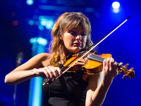 Nicola Benedetti will play on the charity single for Doddie Weir's foundation (Dominic Lipinski/PA)