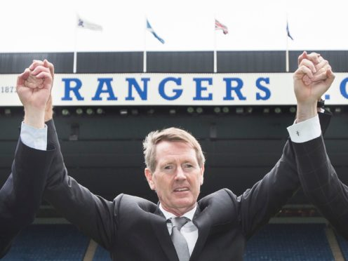 Dave King is celebrating seeing his 'pack of cards' prediction come true (Danny Lawson/PA)