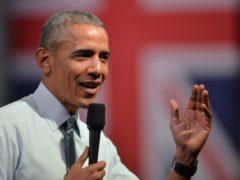 Barack Obama (Anthony Devlin/PA)