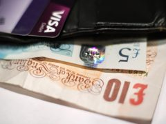 Households' consumer credit borrowing shrank at the sharpest annual rate on record in January, Bank of England figures show (Yui Mok/PA)
