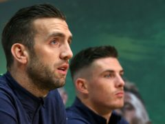 Shane Duffy and Ciaran Clark have played together in defence for the Republic of Ireland before (Niall Carson/PA)