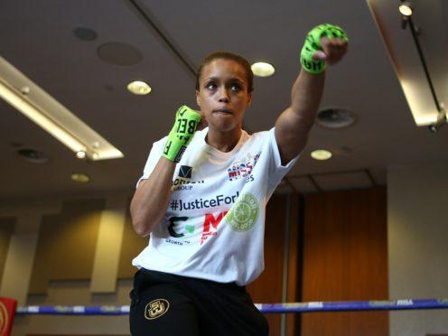 Natasha Jonas has blazed a trail for women's boxing (Dave Thompson/PA)