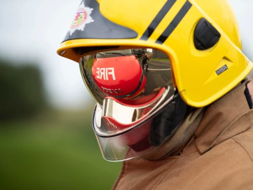 Firefighters are tackling a blaze at an Aberdeen high school (Jane Barlow/PA)