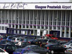 Transport Secretary Michael Matheson said a bidder for Glasgow Prestwick Airport had been identified Glasgow Prestwick Airport (Andrew Milligan/PA)