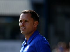 Paul Hurst's Grimsby are at the bottom of League Two (Steven Paston/PA)