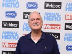 John Cleese described the digital investment craze surrounding NFTs as 'completely absurd' after offering a drawing of his own for sale at £50 million (Ian West/PA)