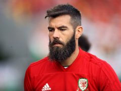Joe Ledley, pictured, could make his Newport debut this weekend (Tim Goode/PA)