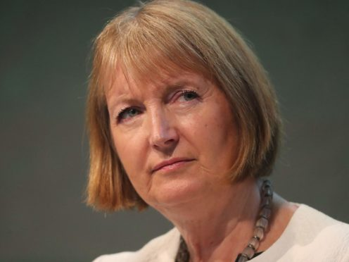 Harriet Harman has hit out at the treatment of the officer (PA)