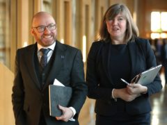 Patrick Harvie and Alison Johnstone will attend a press event in Edinburgh on Tuesday morning (Jane Barlow/PA)