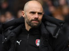 Rotherham manager Paul Warne will be absent against Watford (Anthony Devlin/PA)