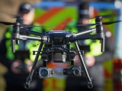 The report said the use of drones and body-worn video cameras should be subject to regular review (Police Scotland)