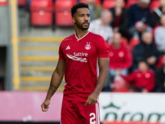 Aberdeen full-back Shay Logan has joined Hearts on loan (Jeff Holmes/PA)