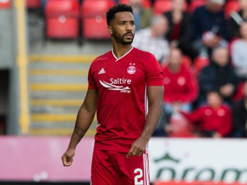 Aberdeen full-back Shay Logan has joined Hearts on loan (Jeff Holmes/PA)