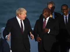 Prime Minister Boris Johnson has invited South African President Cyril Ramaphosa to attend the G7 summit in Cornwall in June as a guest (Andrew Parsons/PA)