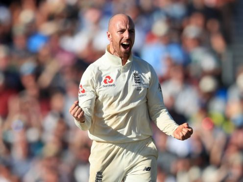 Jack Leach feels more at home than ever as England's number one spinner (Mike Egerton/PA)