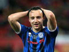 Oliver Rathbone is suspended for Rochdale (Richard Sellers/PA)