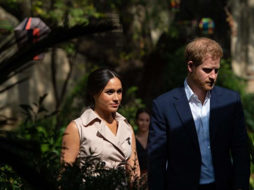 The Duke and Duchess of Sussex (Dominic Lipinski/PA)