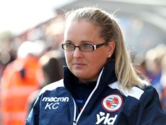 Reading manager Kelly Chambers wants a reaction from her players against Tottenham on Sunday (Martin Rickett/PA Images).