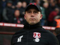 Ross Embleton was sacked as Leyton Orient manager last week (Jonathan Brady/PA)