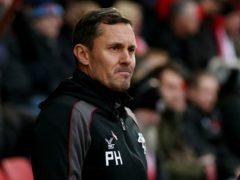 Paul Hurst suffered late agony as Grimsby were held at Carlisle (Jonathan Brady/PA)