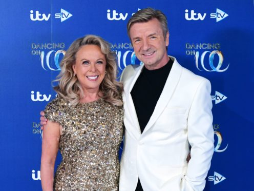Jayne Torvill and Christopher Dean (Ian West/PA)