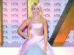 Holly Willoughby swapped her high heels for flip flops following the incident (Ian West/PA)