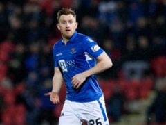 St Johnstone's Liam Craig scored against Hibernian (Jeff Holmes/PA)