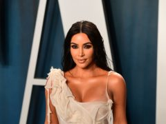 Kim Kardashian West has introduced the newest member of her family – daughter North's bearded dragon Speed (Ian West/PA)