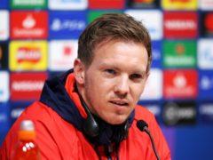 RB Leipzig manager Julian Nagelsmann has some sympathy for Liverpool counterpart Jurgen Klopp (Steven Paston/PA)