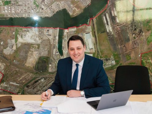 Tees Valley mayor Ben Houchen welcomed the move (Tees Valley Combined Authority/PA)