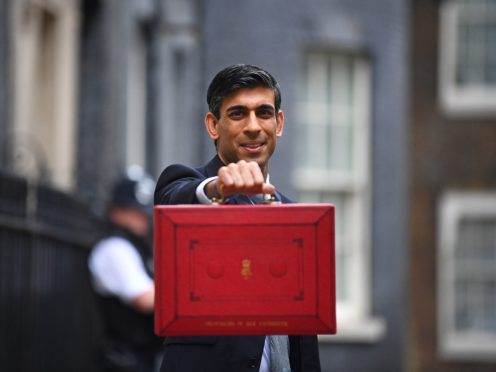 Chancellor Rishi Sunak will set out his Budget plans on Wednesday (Victoria Jones/PA)