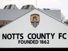 Notts County hosted King's Lynn (Mike Egerton/PA)