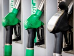 Fuel duty will remain frozen for the 11th consecutive year, Chancellor Rishi Sunak has announced (Liam McBurney/PA)