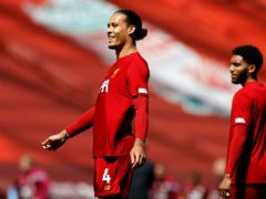 Liverpool manager Jurgen Klopp has said Holland captain Virgil Van Dijk and England's Joe Gomez will not be fit for Euro 2020 (Phil Noble/NMC Pool)