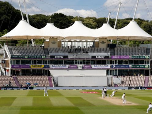 The Ageas Bowl will host the World Test Championship final between India and New Zealand (Adrian Dennis/NMC Pool/PA).