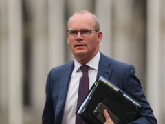 Ireland's Foreign Affairs Minister Simon Coveney spoke to the Friends of Ireland caucus on Wednesday (PA)