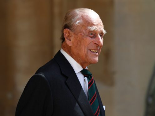 The Duke of Edinburgh has been transferred to another hospital (Adrian Dennis/PA Wire)
