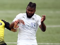 Tyrone Marsh netted an early opener for Boreham Wood (Tim Goode/PA)