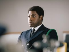 John Boyega as police officer and anti-racism reformer Leroy Logan (S Goodwin/PA)