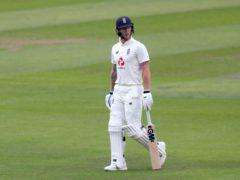 Ben Stokes made a half-century for England (Lee Smith/PA)