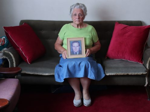 Bernie Morrissey, widow of Garda Sergeant Patrick Morrissey who was killed by the INLA in 1985, was among those who campaigned for the reopening of a fund those bereaved due to Northern Ireland's Troubles (Niall Carson/PA)