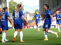 Sam Kerr and Fran Kirby (left) have been in fine form this season (Martin Rickett/PA)