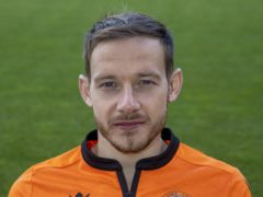 Dundee Utd's Peter Pawlett is back in contention (Jeff Holmes/PA)