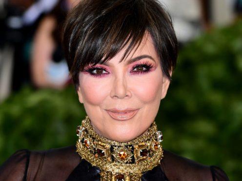 Kris Jenner said she wants Kim Kardashian West and Kanye West 'to be happy' as she broke her silence on their split (Ian West/PA)
