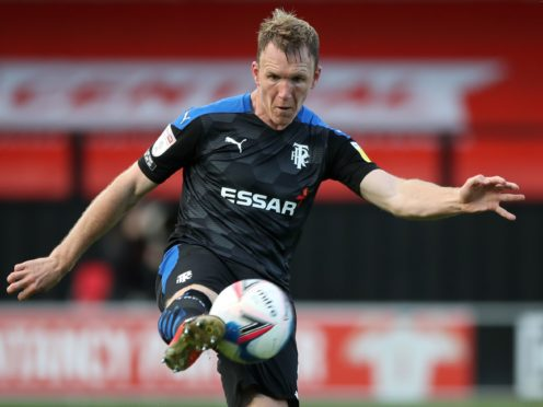 Defender Mark Ellis signed on loan from Tranmere (Nick Potts/PA)