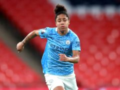 Demi Stokes has signed a two-year contract extension with Manchester City (Adam Davy/PA).