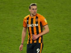 Tom Eaves returned for Hull at the weekend (Nigel French/PA)
