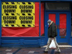 Britain's jobless rate has fallen for the first time since the pandemic struck despite the latest lockdown shutting large parts of the economy, according to official figures.(Andrew MIlligan/PA)