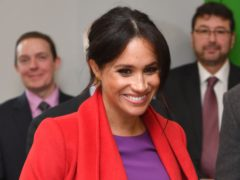 The Duchess of Sussex (Anthony Devlin/PA)