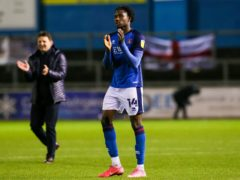 Carlisle are without Joshua Kayode as they face Bradford (Barrington Coombs/PA)